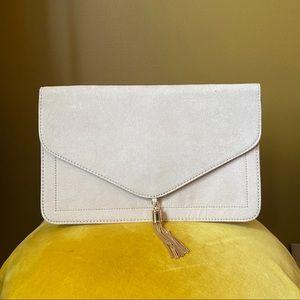 ASOS Nude Envelope Clutch